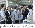 工廠,解釋,商人,女商人 35555843