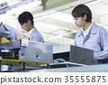 工廠,生產線,工人 35555875