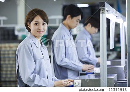 工廠,生產線,工人 35555918