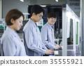 工廠,生產線,工人 35555921