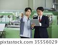 공장, 어른, 직업인 35556029
