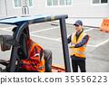 工業,工廠,叉車,工人 35556223