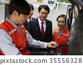 Industry, factory, forklift, worker 35556328