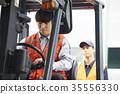 工業,工廠,叉車,工人 35556330