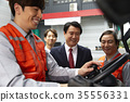Industry, factory, forklift, worker 35556331