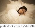 Sleepless women 35563994
