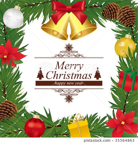 聖誕花環 聖誕時節 聖誕節 35564863