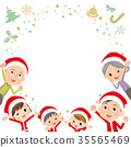 圣诞老人 圣诞老公公 圣诞节 35565469