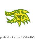 Boar Head Celtic Knot 35567465