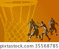 basketball abstract background 35568785