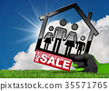 Symbol of a Model House For Sale 35571765