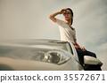 女背包客肖像 35572671