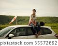 女背包客肖像 35572692