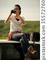 女背包客肖像 35572760