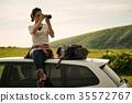 女背包客肖像 35572767