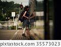 女子背包客家庭火車 35573023