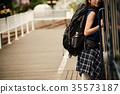 女子背包客家庭火車 35573187