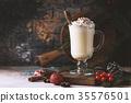 eggnog, drink, glass 35576501