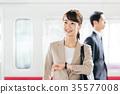 火車 電氣列車 通勤 35577008