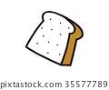 white, bread, baker 35577789