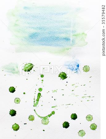 Abstract illustration blots 35579482