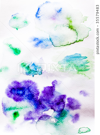 Abstract illustration in violet tones 35579483