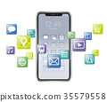 smart, phone, app 35579558