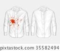 shirt, vector, ketchup 35582494