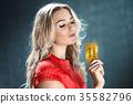 黄金 金色 金 35582796