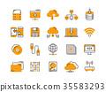 Cloud omputing. Internet technology. Online 35583293