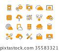 Cloud omputing. Internet technology. Online 35583321