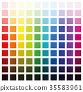 color, spectrum, palette 35583961
