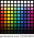 color, spectrum, palette 35583964