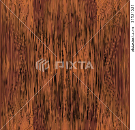 seamless texture of red wood - Stock Illustration [35584083] - PIXTA