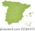 西班牙地圖行政區劃 35584373