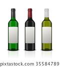 glass, bottle, wine 35584789
