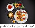 比利時華夫餅 華夫餅 食物 35586565