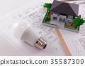 residence, residential, bulb 35587309