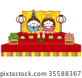 女孩的节日 女儿节 木偶节 35588367