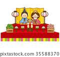 女孩的节日 女儿节 木偶节 35588370