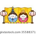 女孩的节日 女儿节 木偶节 35588371