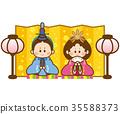 女孩的节日 女儿节 木偶节 35588373