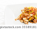 noodle with chicken 35589181