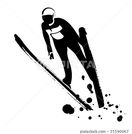 스키 점프 35590067