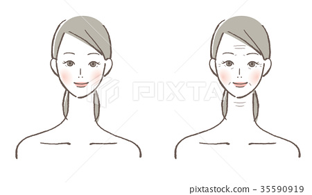 vector, vectors, female 35590919