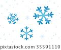 snowy, snow, flake 35591110