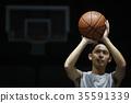 男子射击篮球 35591339