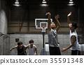 남성, 남자, 농구 35591348
