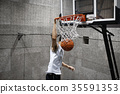男子射击篮球 35591353