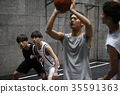 男子打篮球 35591363